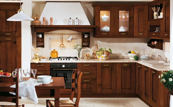 Mobili Cucina Legno Massello : Mobili cucina legno massiccio cucine artigianali su misura in